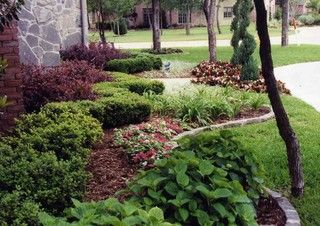 Front Yard Landscaping North Texas Front Garden Landscape Evergreen Landscape Front Yard Florida Landscaping