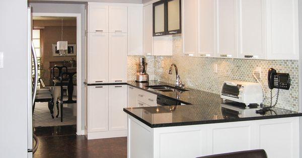 armoires de cuisine blanches - photo #33