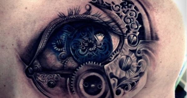 Steampunk by DreamSteam: Got Ink? Steampunk Tattoo Designs, Part 2