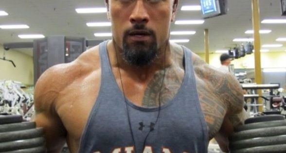 The Rock, Dwayne Johnson's Workout Routine And Diet ...