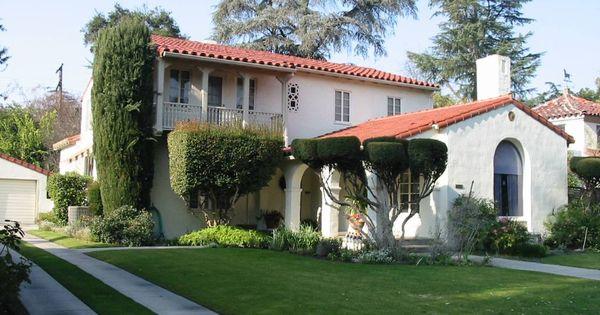 California spanish home casas de campo pinterest - Exteriores de casas de campo ...