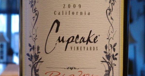 my favorite wine ever! red velvet wine from Cupcake Vineyards.