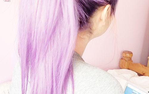 Purple Blue Ombre Hair Color