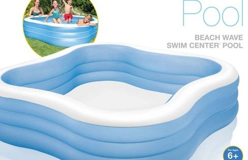 Intex Swim Center Inflatable Family Swimming Pool 57495ep Target Children Swimming Pool Swimming Pools Backyard Family Swimming