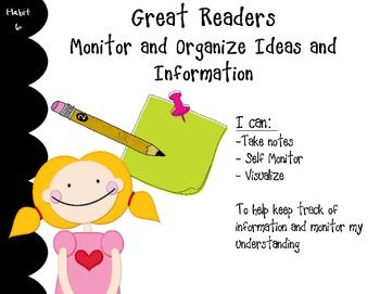 Good Habits Great Readers Habit Posters Good Habits First Grade Reading Teaching Reading