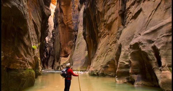 The Narrows Hike, Zion National Park. Also on the bucket list