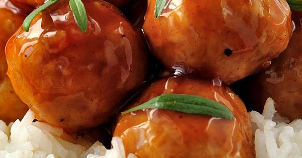 The Best Sweet and Sour Meatballs Recipe - meatballs simmered in a ...