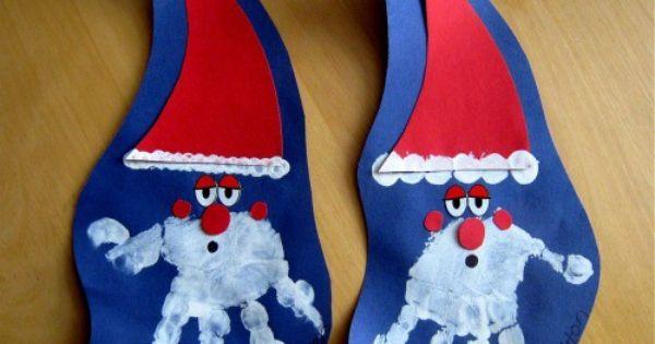 Christmas Handprint santa