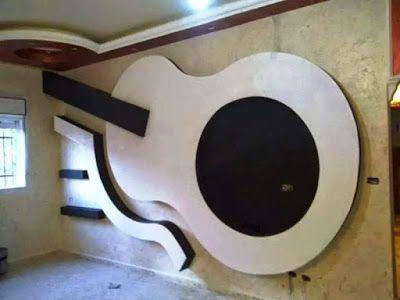 30 Popular Custom Gypsum Board Tv Units That People Choose Living Room Design Decor Pop False Ceiling Design False Ceiling Living Room