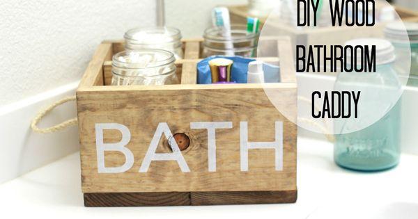 ... for the Bathroom  Bath caddy, Bathroom inspiration and Bathroom caddy