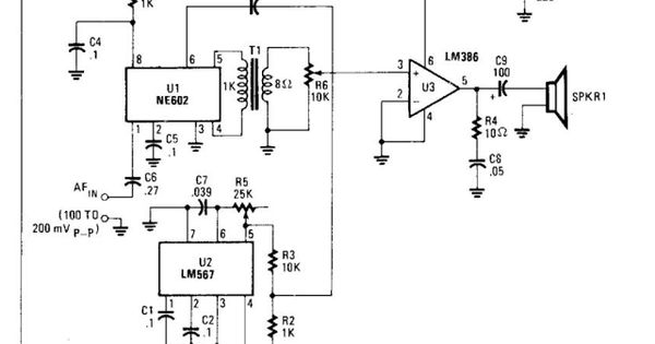 Voice Scrambler Or Descrambler Circuit Diagram