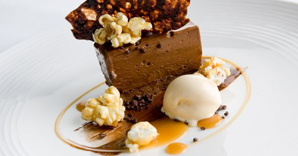 Plating ideas, Plating and Chocolate on Pinterest