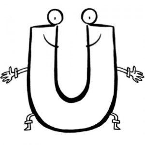 Letras Del Abecedario Para Colorear Escuela En La Nube Letras Del Abecedario Letras Mayusculas Para Imprimir Letras Para Recortar