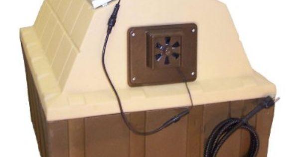 Asl Solutions Dog House Solar Powered Exhaust Fan Choose Your
