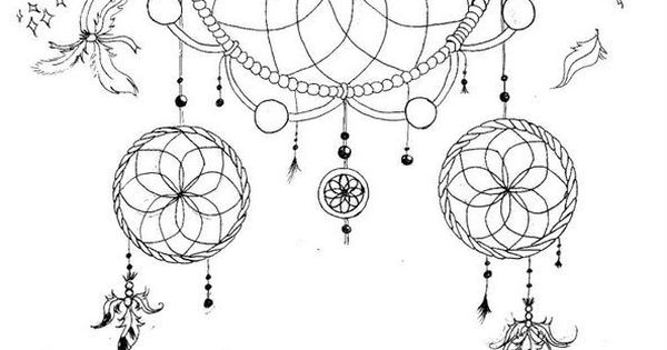 Dream Catcher Coloring Book Animal Coloring Pages Dream