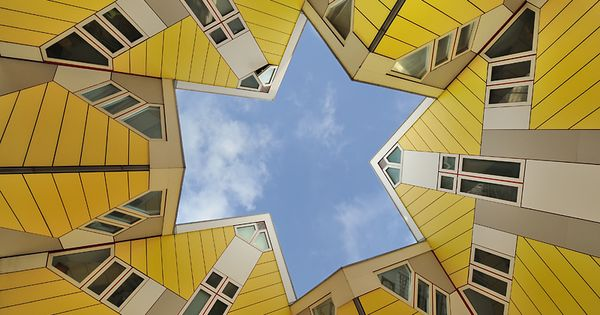 Estudio de arquitectura alicante viviendas de dise o kubuswoning casas cubo de rotterdam piet - Estudio arquitectura alicante ...