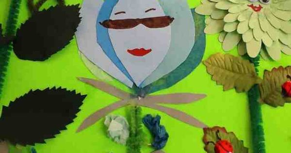 ocd girl scout leaders lupe the lupine paper craft girl