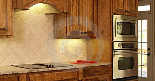 luxury model home maple kitchen cabinets by anthony berenyi via