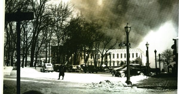 A View Of The Quality Furniture Fire In February 1944 The
