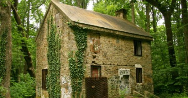 What Was The Little Stone House In The Fonthill Woods House