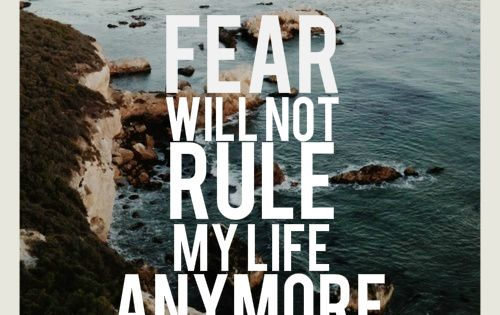 Fear will not rule my life anymore. Inspirational quotes on PictureQuotes.com.