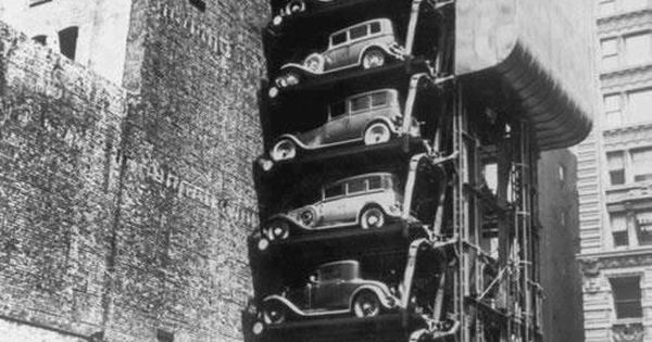New York City Car Parking In 1930 Old Photography 1