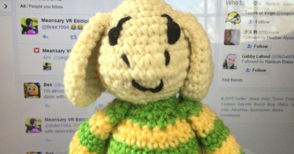 Undertale Amigurumi Pattern : undertale crochet pattern - Google Search Undertale ...