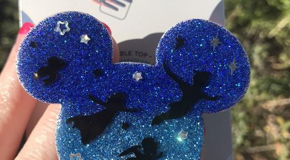 Disney Inspired Peter Pan pop socket Peter Pan\u2019s Flight to Neverland Inspired Popsocket