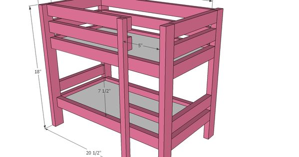 The 7 reasons why you need furniture for your barbie dolls doll bunk beds furniture plans and - Reasons why you need stacking chairs ...