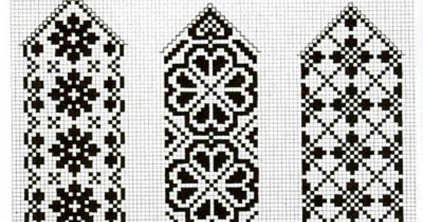Pour signet ou bordure... Quaker Style Cross Stitch Pinterest Patterns ...