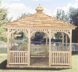 9 Rectangle Gazebo Gazebo Plans Rectangle Gazebo Gazebo