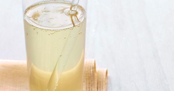 Ginger Sparkler, Recipe from Everyday Food, December 2008
