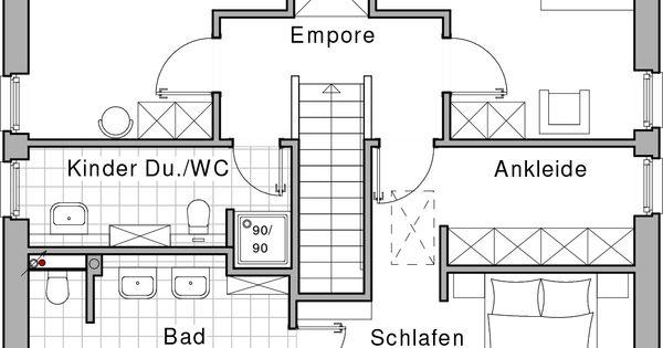 obergeschoss haus pinterest grundrisse hausbau und traumh user. Black Bedroom Furniture Sets. Home Design Ideas