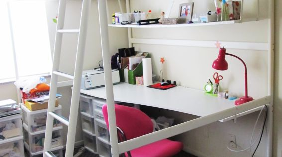 bed desk image ideas loft beds pinterest ikea beds with storage