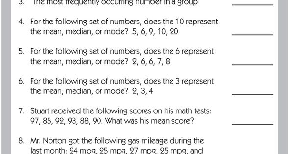 What Is Mean Median And Mode What Is Frequency Test
