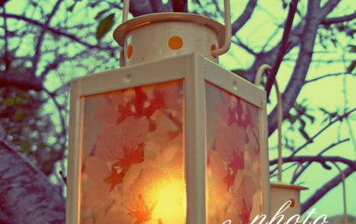 DIY Photo Lanterns Tutorial | decor8
