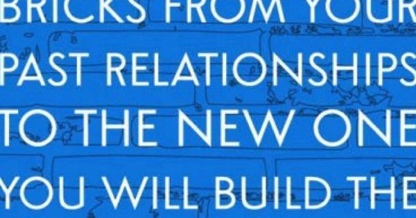 Well said....building new relationships with new bricks...:)