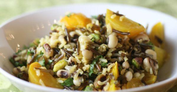 and wild rice salad. | recipes | Pinterest | Wild Rice Salad, Rice ...