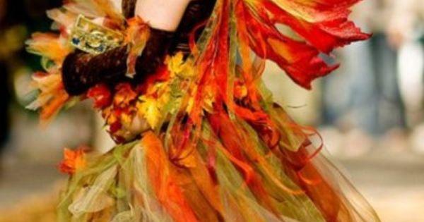 autumn fairy costume idea