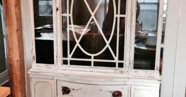 Repurposed Gems Raw Silk Antique Hutch 500 Furniture For Sale Pinterest Antique Hutch
