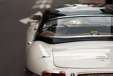 Jaguar...Dad's dream car.