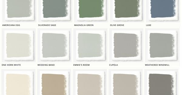 Magnolia Home Paint: Joanna Gaines Releases New Paint Collection : Magnolia, Wedding and Walls