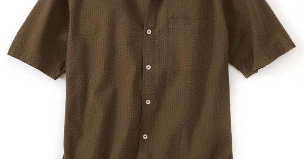465b75c5f8b Breathe Easy Seersucker Short Sleeve Shirt