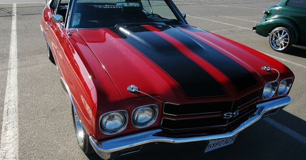 Classic American Muscle Car Chevy Chevelle SS 454 - raw power!! maybe