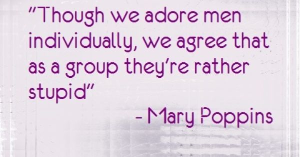 oh mary poppins, such a wise women