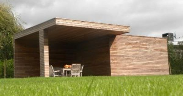 Poolhouses / Poolhouse in moderne stijl : Coppens webshop - garden ...