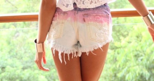 diy summer shorts