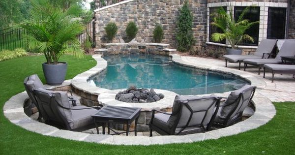 Small Pool Ideas really cool pool seating maybe someday after all our yard Really Cool Pool Seating Maybe Someday After All Our Yard