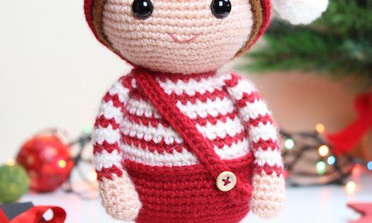 christmas elf amigurumi crochet pattern 1