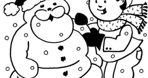 Personalized Winter Snow Worksheet